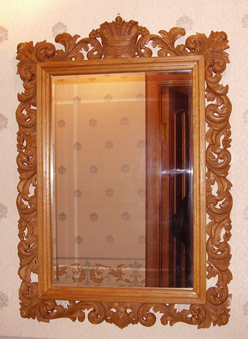 Зеркала из дерева своими руками фото